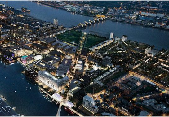 Royal Docks projects nominated for award