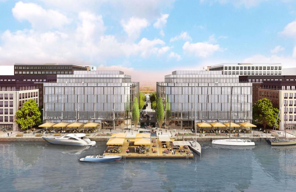 Royal Albert Dock takes a major step forward