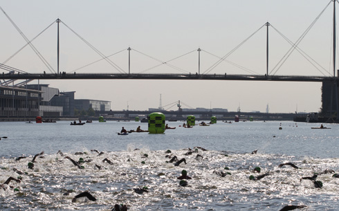 Great Swim London at London's Royal Victoria Dock
