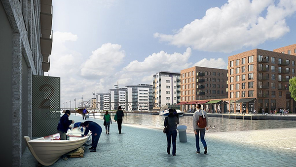 The return of the prefab for Silvertown?