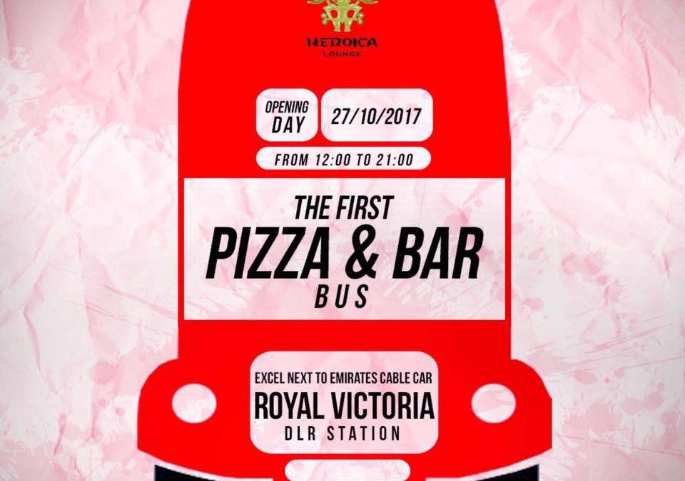 Double Decker pizza restaurant opens