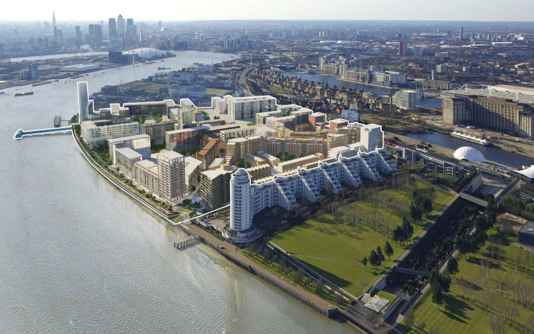 Royal Wharf landmark
