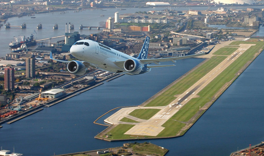 London City Airport breaks the 100,000 barrier