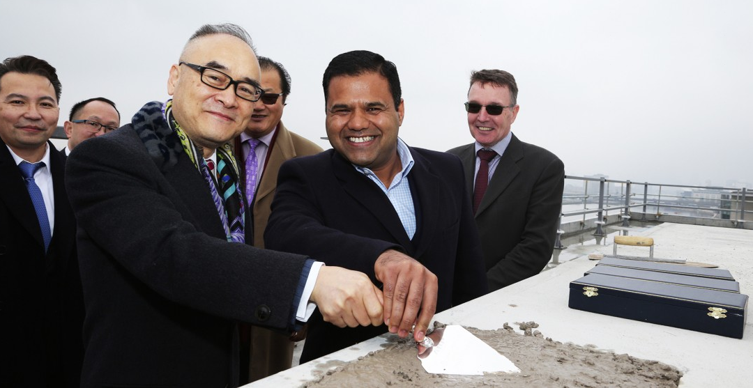 ABP hosts Topping Out ceremony at Royal Albert Dock