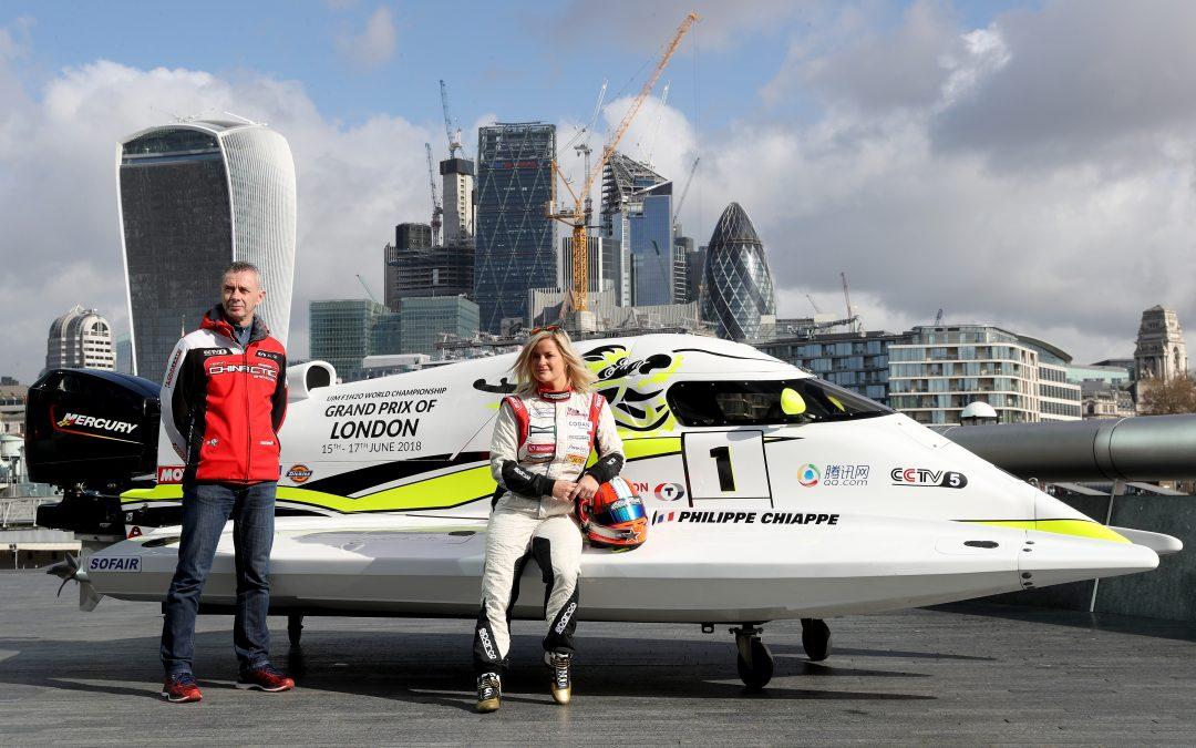 Formula 1 powerboat racing returns to the Royal Docks