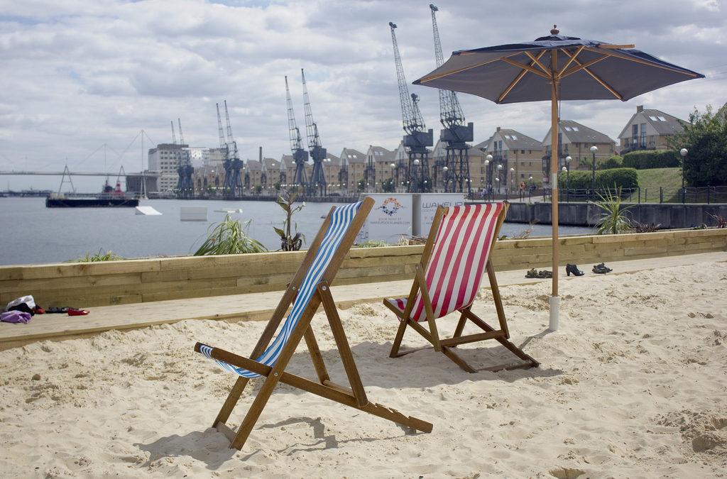 Urban beach events for Summer 2018