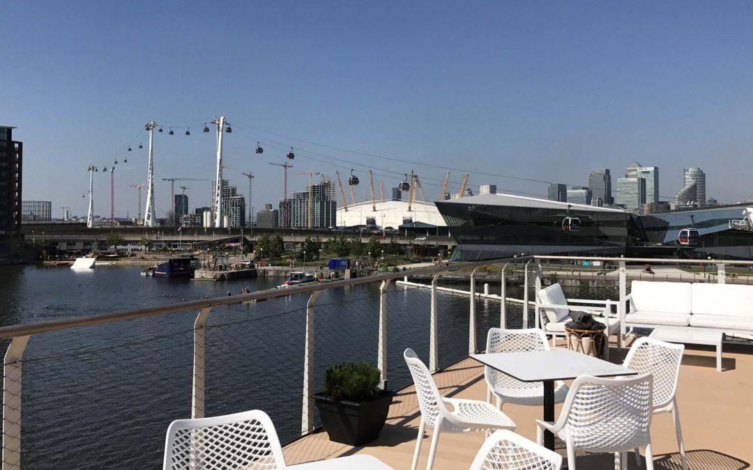 The Good Hotel : Good hotel opens rooftop bar london s royal docks