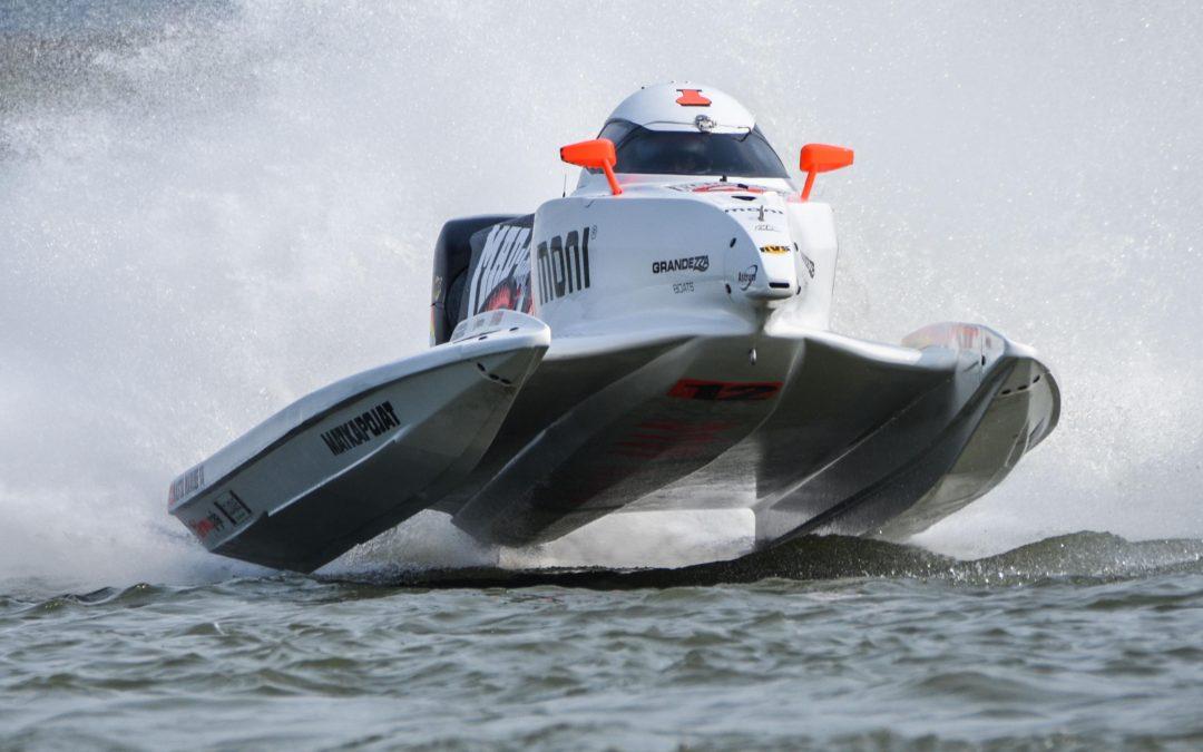 The return of Formula 1 Powerboat racing
