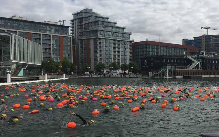 The 2018 Dock2Dock Swim