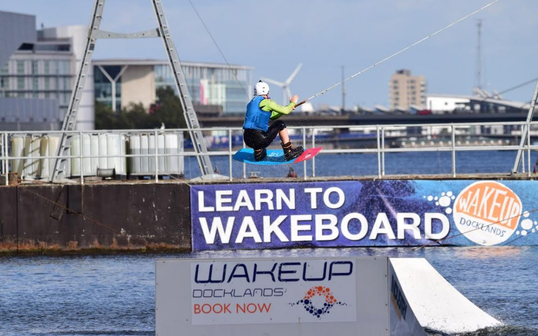 Wakeboarding returns to the Royal Docks for the summer