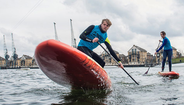 London SUP Open comes to the Royal Docks