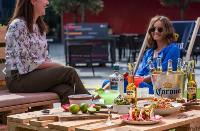 Corona Terrace opens at Aloft London Excel