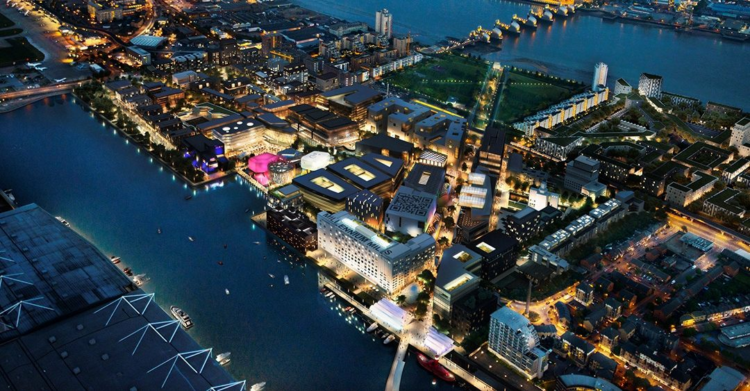 Royal Docks given £300 million regeneration go ahead